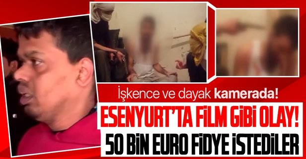 50 bin euro fidye isteyen çeteye operasyon!