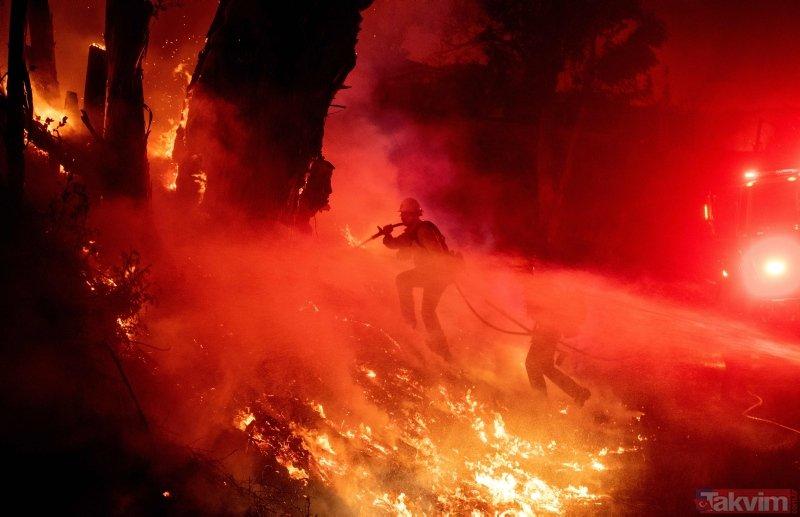 Son dakika... ABD'nin Kaliforniya eyaletindeki yangın hala söndürülemedi