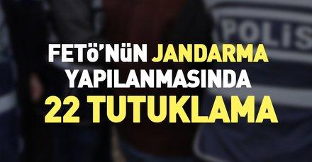 Son dakika: FETÖ'nün İstanbul Jandarması'ndaki yapılanmasına 22 tutuklama