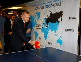 Erdoğan Mardin Büyükşehir Belediyesi Gençlik Merkezi'ndeki gençlerin davetine kayıtsız kalmadı