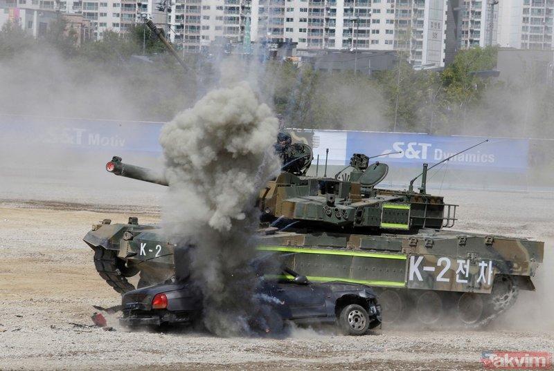 Güney Kore ordusundan dev tatbikat!
