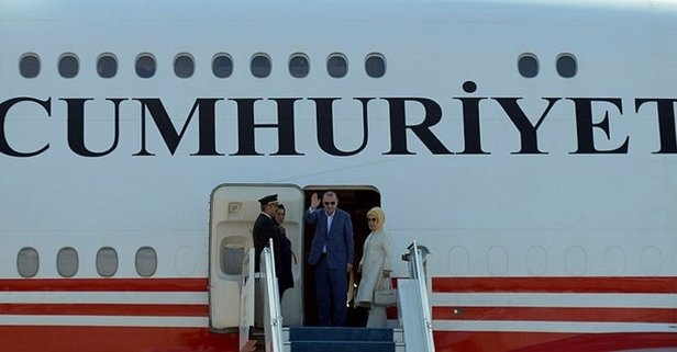 Başkan Erdoğan Tacikistan'da