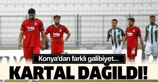 Kartal Konya'da dağıldı!