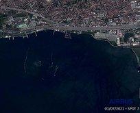 Marmara'nın son durumu uydudan görüntülendi