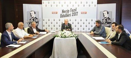 Necip Fazıl Ödülleri açıklandı