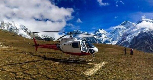 O ülkede bakanı taşıyan helikopter düştü!