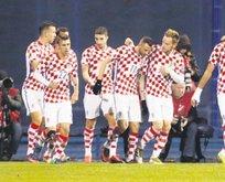 Hırvatistan evinde 3 puanı kaptı