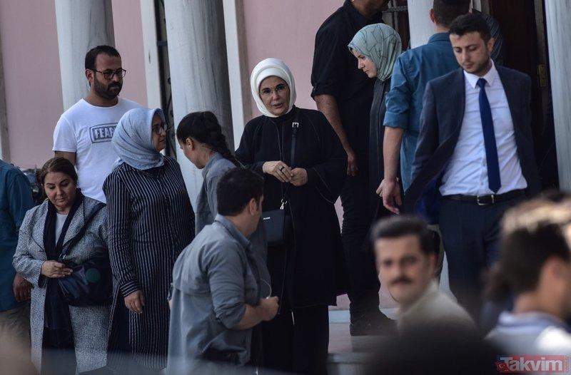 Başkan Erdoğan'dan Şule Yüksel Şenler'in isminin verileceği müze ve kütüphane binasına ziyaret