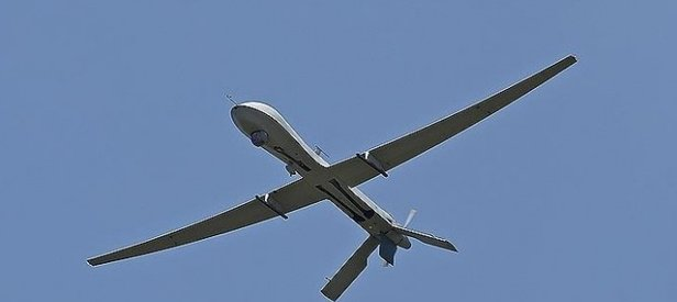 Sınırda İsrail keşif uçağı düştü