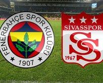 Fenerbahçe - Sivasspor maçı saat kaçta?