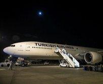 340 Türk vatandaşı THY uçağıyla Ankara'ya getirildi