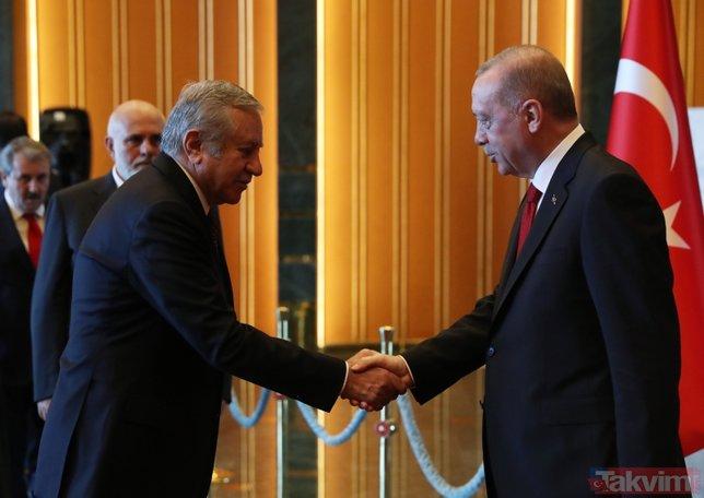 Külliye'de 29 Ekim coşkusu! Başkan Erdoğan tebrikleri kabul etti