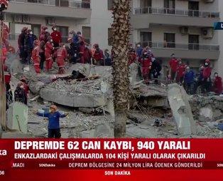 Son dakika: İzmir'de Rıza Bey Apartmanı enkazının yanındaki bina sallandı, ekipler uzaklaştırıldı