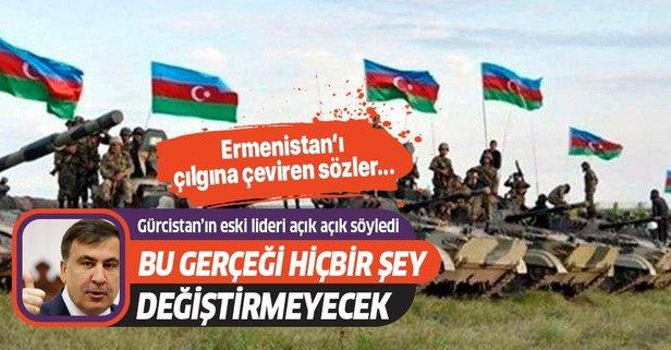 Saakaşvili Ermeni bakanı kudurttu