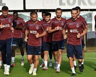 Trabzonsporda BB Erzurumspor maçı hazırlıkları