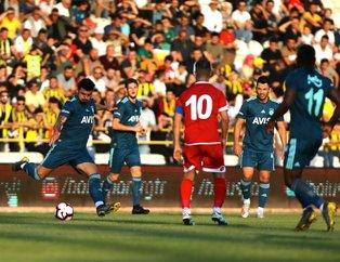 Fenerbahçe hazırlık maçında Boluspor´u 2-0 mağlup etti