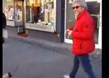 Berlin'deki gurbetçi vatandaştan Can Dündar'a sert tepki: Şerefsiz! Sen vatan haini değil misin?
