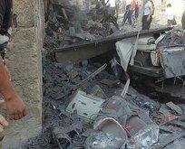 Afrin'de bombalı araçla terör saldırısı