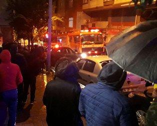 Sesi duyan sokağa döküldü! İstanbulda korkutan olay