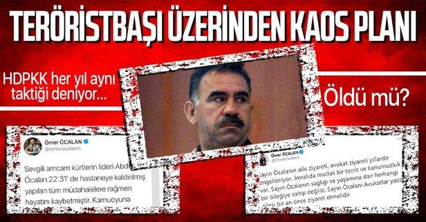 Teröristbaşı Öcalan öldü mü?