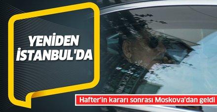 Son dakika: Libya Başbakanı Sarrac Moskova'daki görüşme sonrası İstanbul'a geldi