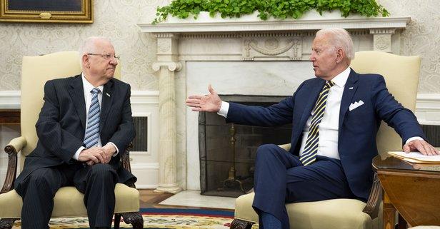 Biden, İsrail Cumhurbaşkanı Rivlin ile buluştu