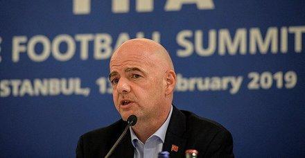 FIFA Başkanı Infantino: Türkiye lider bir ülke
