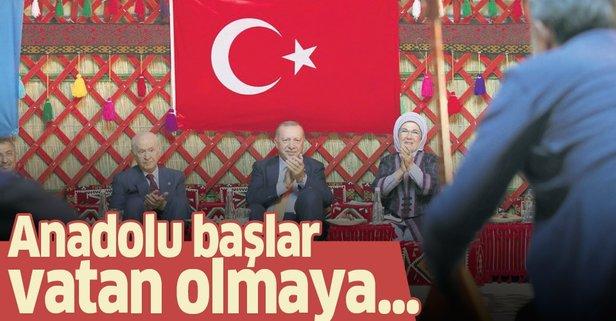 Anadolu başlar vatan olmaya