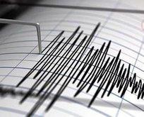 Kuşadası açıklarında korkutan deprem!