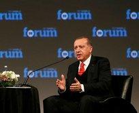 """Erdoğan: """"Bunu Trump'a söyledim..."""""""