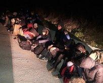 Sınırı geçmek üzereyken yakalandılar