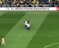 Kadıköy'de derbi öncesi saha karıştı!