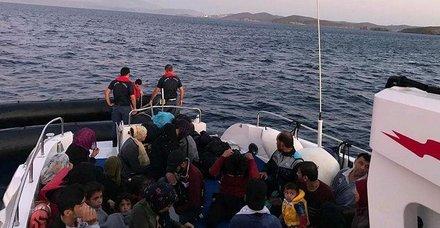 Son dakika: İzmir'de 181 kaçak göçmen yakalandı