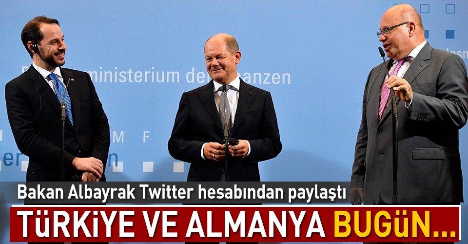 Türkiye ve Almanya bugün...