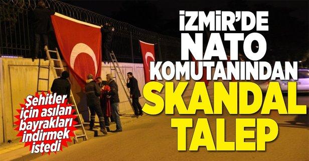 İzmirde NATO komutanından skandal talep