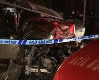 Bursa'da feci kaza: 1 ölü 4 yaralı