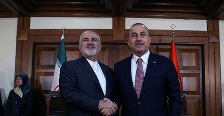 Son dakika: Dışişleri Bakanı Mevlüt Çavuşoğlu, İran Dışişleri Bakanı Cevad Zarif ile görüştü