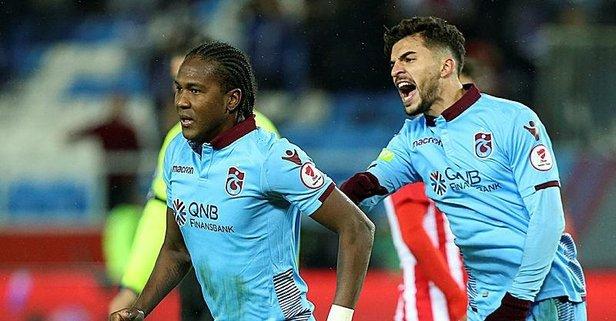 Trabzon'un golcüleri yine iş başında