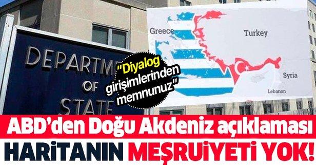 ABD'den 'Doğu Akdeniz' açıklaması