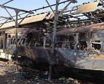 Pakistan'da trene bombalı saldırı
