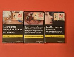 Sigarada yeni dönem başladı! Sigara paketleri artık böyle olacak!