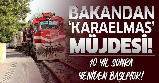 Bakandan 'Karaelmas Ekspresi' müjdesi!