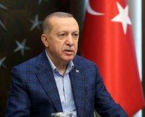 Başkan Erdoğan'dan Mehmetçiğe bayram kutlaması!