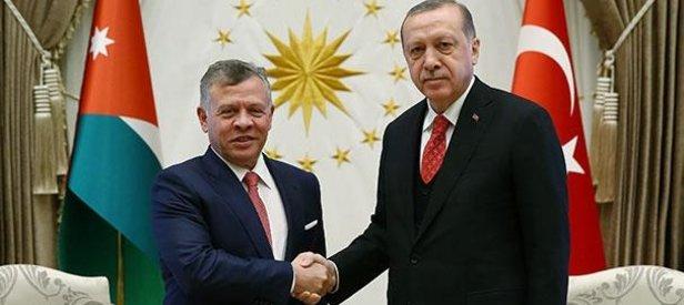 Erdoğan ve Ürdün Kralından ortak açıklama