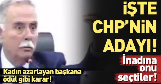 İşte CHPnin kadın azarlayan adayı!