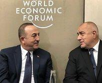 Çavuşoğlu'ndan Davos'ta ikili görüşmeler!