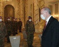 Başkan, Bakü'de Mehmetçik'le buluştu