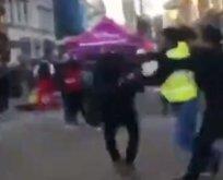 İngiltere'de terör sevicilerden Türk öğrenciye alçak saldırı!