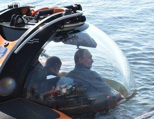 Rusya lideri Putin, C-Explorer 3.11 tipi batiskafa binerek derin denize indi