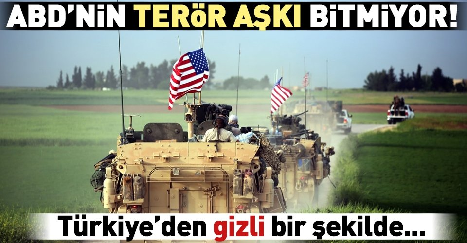 ABDden skandal YPG hamlesi!